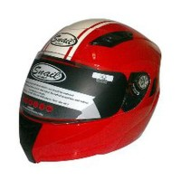 Kaca Helm Original Snail 831 Modular Revo Red