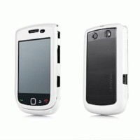 Capdase Fuze for Blackberry Torch 9800 9810 - White Clear