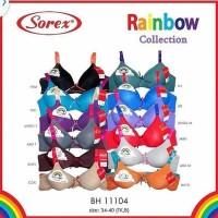 Sorex Bra BH Rainbow Busa Tanpa Kawat 11104