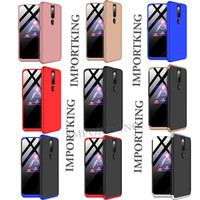 Oppo F11 pro 360 protection slim matte case - all color