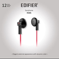 Edifier H101 Series Earphone - Black