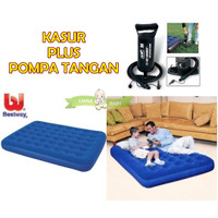 KASUR ANGIN BESTWAY TWIN PLUS POMPA TANGAN