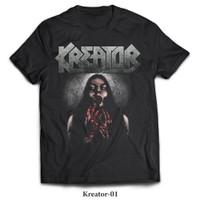 Kaos Band Metal KREATOR, New States Apparel Printed Tshirt