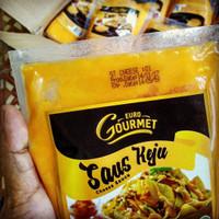 Saus Keju Euro Gourmet Cheese Sauce by Cimory 500 Gram