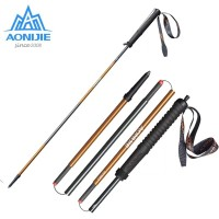 TONGKAT TREKKING POLE HIKING TRAIL RUNNING CARBON ULTRALIGHT AONIJIE