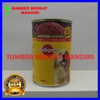 Pedigree Kaleng Beef - Makanan Anjing 400 gram