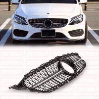 Permaisuri Grille Diamond For Mercedes C Class W205 Style 43