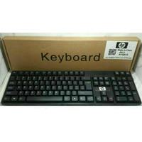 Keyboard HP/ Keybod USB HP/Keybod USB HP SK 6533/HP SK6533 - Hitam