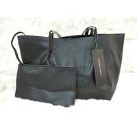 New Stock Tas wanita cewek branded import kerja tote bag besar + pouch