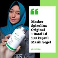 Masker Wajah Masker Spirulina Tiens 1 Botol Original
