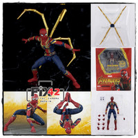 Action Figure TAMASHI Spiderman Iron Spider Avengers Infinity War