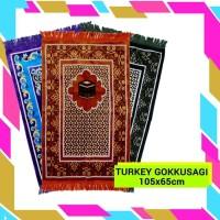 GROSIR Sajadah Turkey / Turki GOKKUSAGI Besar SUPER - Random Diskon