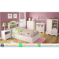 set kamar anak minimalis, dipan anak, tempat tidur anak, dipan anak