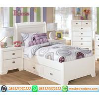 set kamar anak, tempat tidur anak, dipan anak minimalis