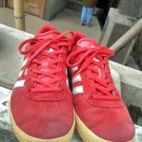 sepatu adidas gazelle 2 red size 38 second