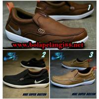 Big Sale Branded !!! Sepatu Sport Nike Boston Slop Casual Slip On Pria