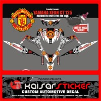 STICKER DECAL MOTOR YAMAHA XEON GT 125 MU PUTIH