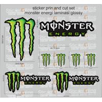 sticke print and cut set monster energi helm arai shoei kbc kyt agv