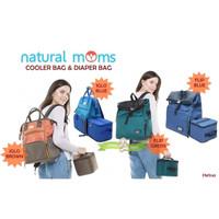 PMS145 COOLER BAG & DIAPER BAG NATURAL MOMS IGLO & FLIP