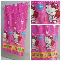 Gorden plisket hello kitty / Gordyn Hello kitty / Hordeng jendela