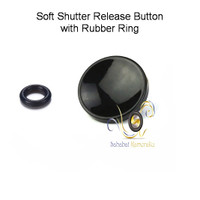 Soft Shutter Release Button with Rubber Ring (concave cekung)