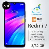 Xiaomi Redmi 7 3/32 GB Garansi Resmi TAM - Biru