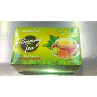 [MUSTIKA RATU] Slimming Tea Honey & Lime Double Strength 15 BAG