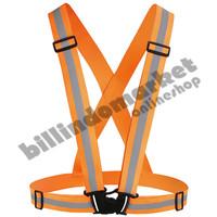 Elastic Scotlight Vest Rompi Karet Safety Proyek V Guard Oren Orange