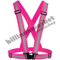 Elastic Scotlight Vest Rompi Karet Safety Proyek V Guard Pink