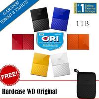 WD My Passport 1TB - HD HDD Hardisk Eksternal External 2.5 USB 3.0 -
