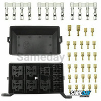 Kotak Sekering Relay Universal Fuse Box Skun Terminal Jeep Jimny Retro