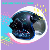 helm 2-6 tahun bogo anak karakter batman