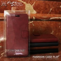 FLIP COVER KULIT HUAWEI HONOR 7A/ Y6 2018 LEATHER CASE DOMPET KULIT