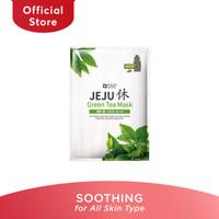 SNP Jeju Rest Green Tea Mask