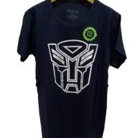 Kaos Anak Laki-Laki Transformers Glow Rhymes Baju Cowok Atasan - Hitam, 4