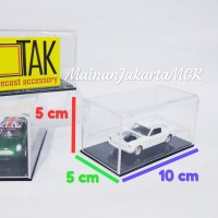 kotak box akrilik display diecast hot wheels loose