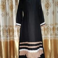 Gamis Wanita Muslimah Black