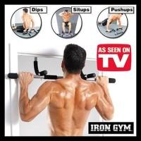 New Product!!! Iron Gym Alat Fitnes Pull Up Alat Olahraga Angkat Badan