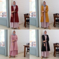 Caroline Maxi 2in1 - Trend Fashion Muslim 2019