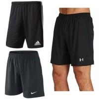 Celana Bawahan Sport Gym Fitness Running Pria   Boxer Nike Adidas UA