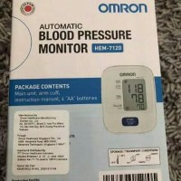 omron blood pressure monitor HEM-7120 digital tensimeter omron