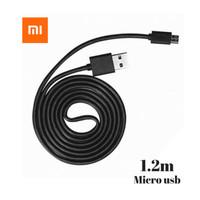 Kabel data XIAOMI 2A micro USB 100% Original - logo petir