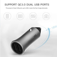 Xiaomi Mi Dual USB Ports Car Charger With Quickcharge 3.0 (18W)