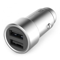 Xiaomi Quick Charging Car Charger with Dual USB Ports 12 - 24v Input