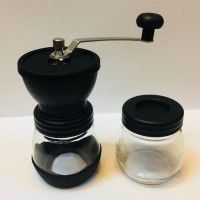 New Manual Coffee Grinder Glass Set, CG-2120.