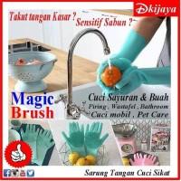 sarung tanggan cuci piring mobil alat cuci mobil magic brush gloves sp