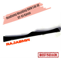 Headlamp Moulding BMW E46 4D 02-04 Kanan
