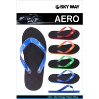 Sandal Sky Way Aero - Merah, 9