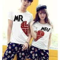 Baju Couple Kaos Oblong Pasangan Soulmate Mr Love 11172
