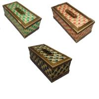 Tempat tisue Kotak Tisu Bambu Unik